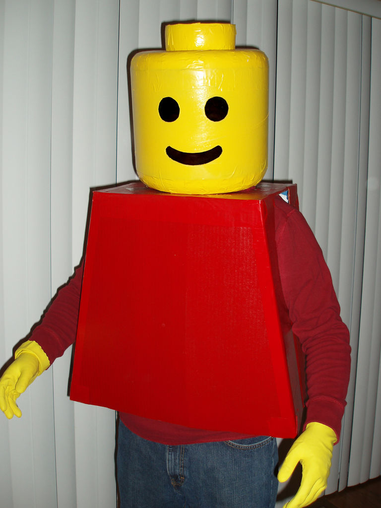 Lego Man as seen on Instructables