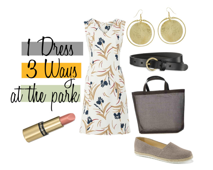 Mode Mix: 1 Kleid 3 Outfits