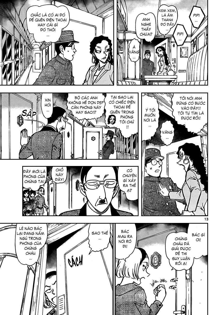 Thám Tử Lừng Danh Conan - Chapter 819 - Pic 14