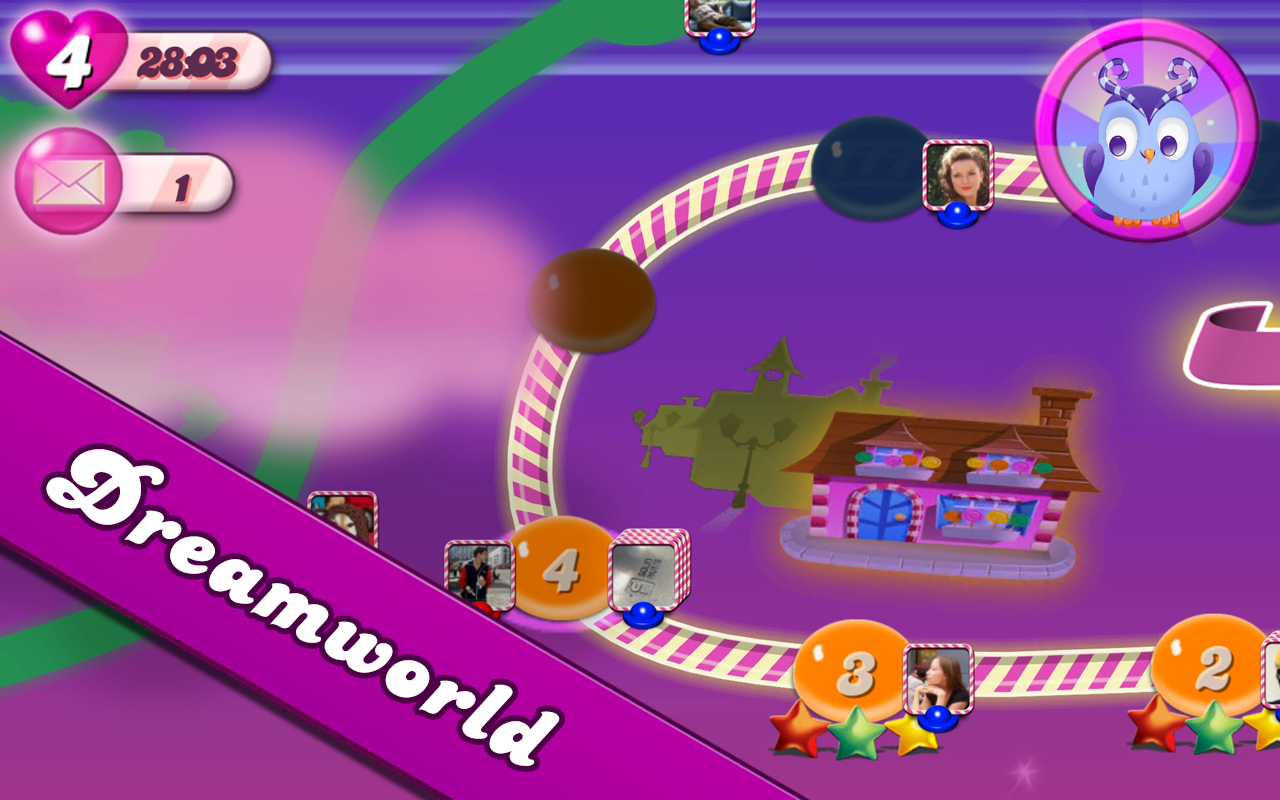 Candy Crush Saga Android Apk Oyun resimi 1
