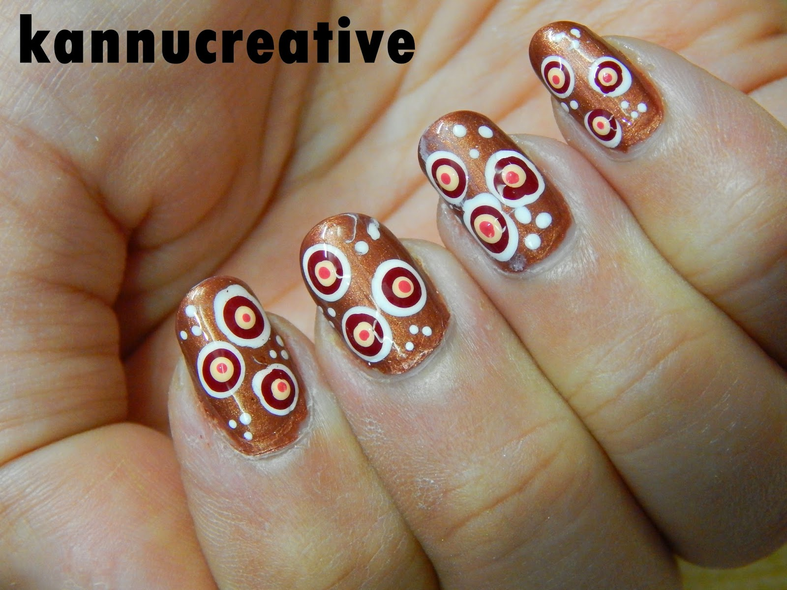 Elegant Dotted Nail Art Design Tutorial Her Creative Palace