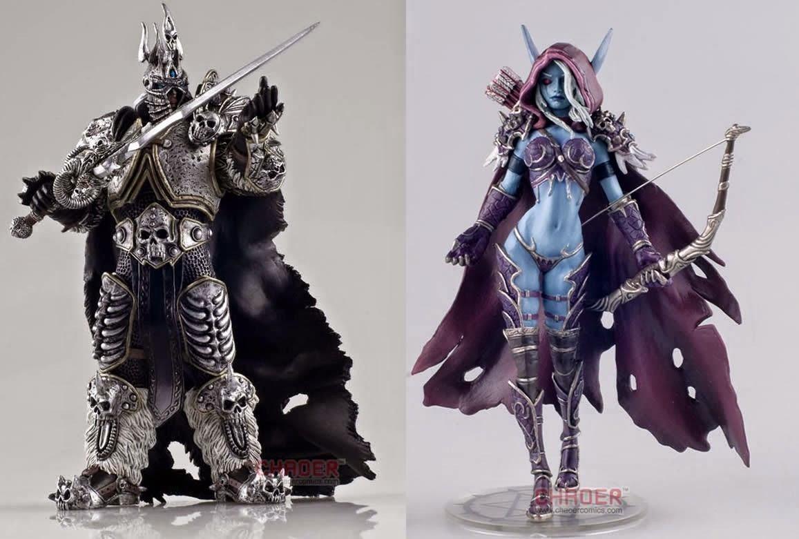 Sylwanas Arthas Figurka World of Warcraft