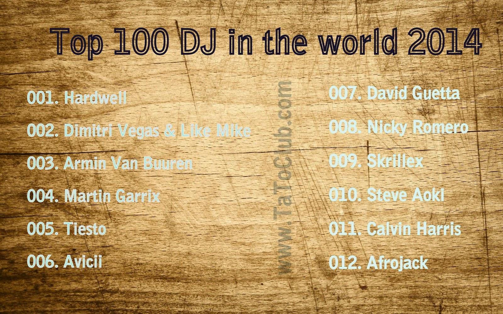 Top 100 DJ