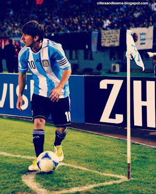 Lionel Messi Big Captain Of His National Team Argentina