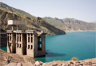 Nurek Dam - Nurek Hydro-electric Station
