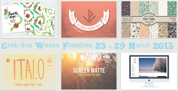 free files for this week