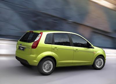 La Ford Figo, derivata dalla Ford Fiesta Europa, lanciata nel 2010