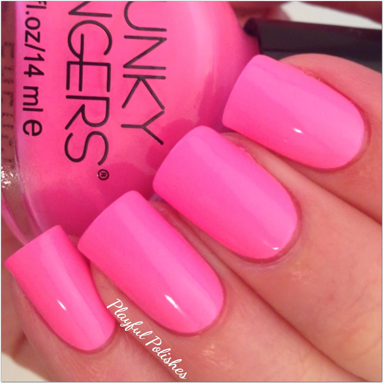 Playful Polishes Funky Fingers Swatch Review
