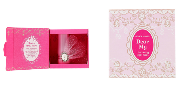 Etude House Dear My Blooming Lips-talk - Etude Pink Box