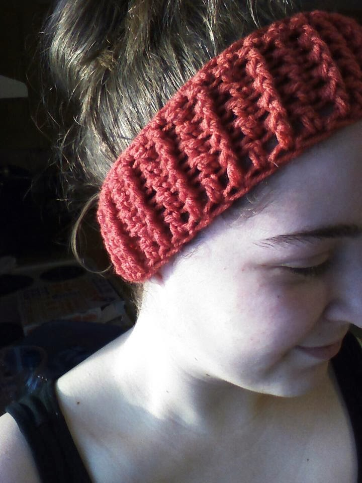 Free Crochet Ribbed Headband Patterns : The Hippy Hooker: Ribbed Headband/Ear Warmer - Free ...