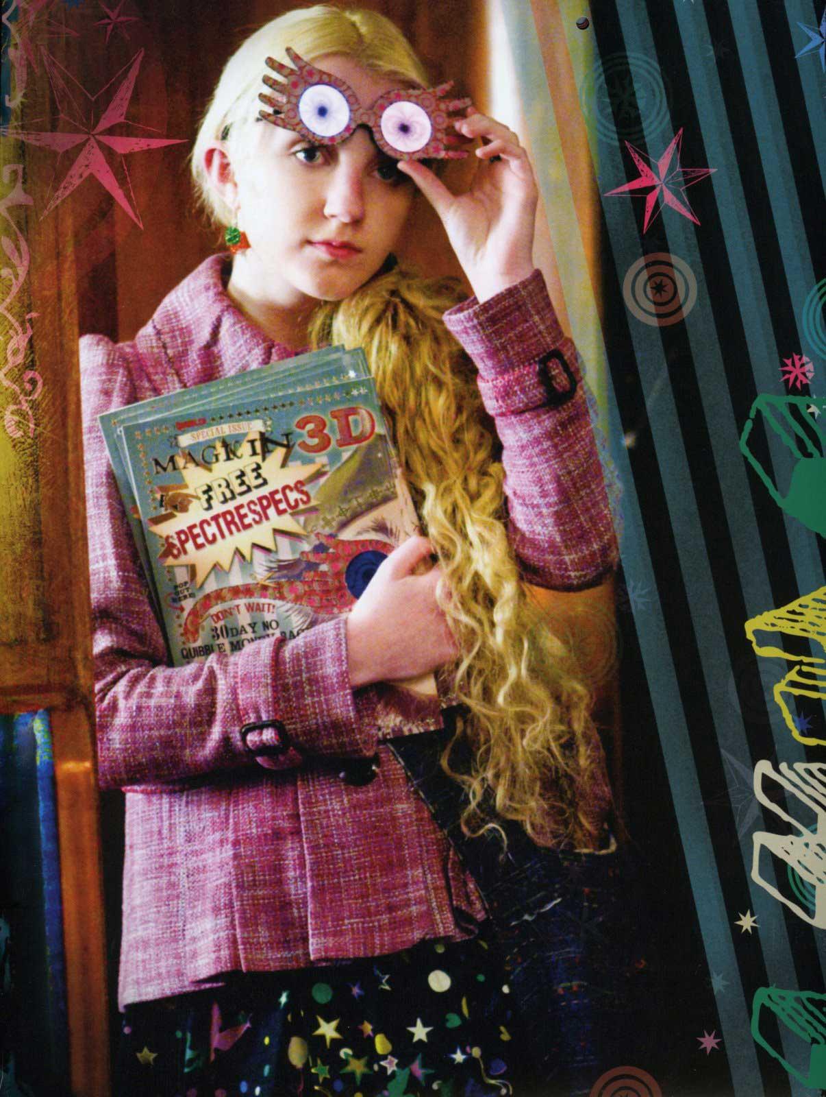 un-BLOG-evable: Style Icon: Luna Lovegood