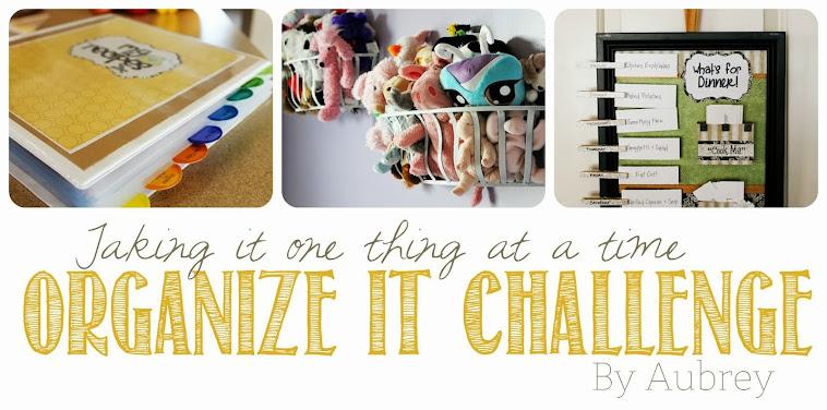 Organize It Challenge