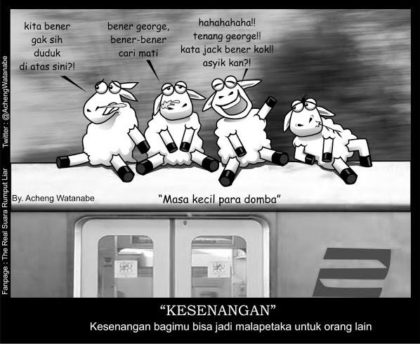 Gambar Cerita Lucu Terbaru Domba