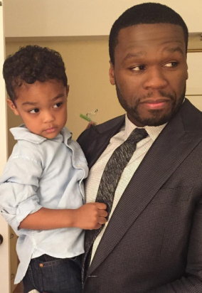 50 Cent Shares Cute Photos With His Son