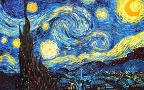 """Starry Night"" by Vincent Van Gogh."