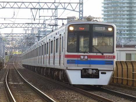 快速 羽田空港行き3700形
