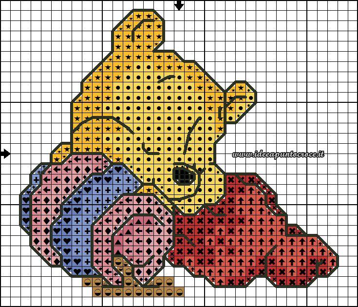 Schemi disney a punto croce schemi baby winnie the pooh for Winnie the pooh punto croce
