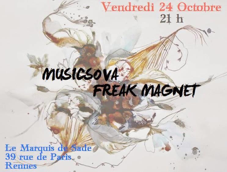 Programme des concerts rock de la r gion de rennes saint for Le nez rouge dinan