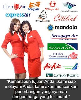 travel agent, travel agent online, travel agent di jakarta, palembang, medan, bali, makassar, lion air, sriwijaya air, air asia
