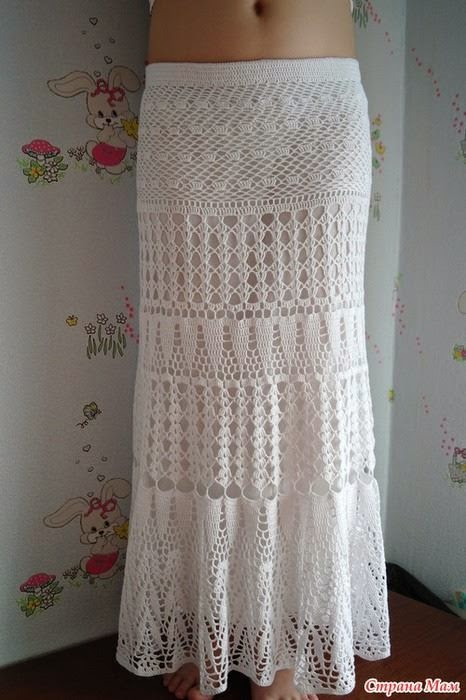 Crochet Skirt Pattern : Crochet Patterns to Try: Free Crochet Pattern for Stunning Maxi Skirt ...