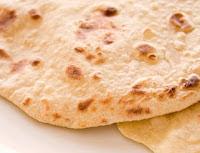 Pão Indiano (vegana)