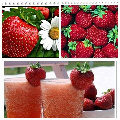 Manfaat jus buah stroberi