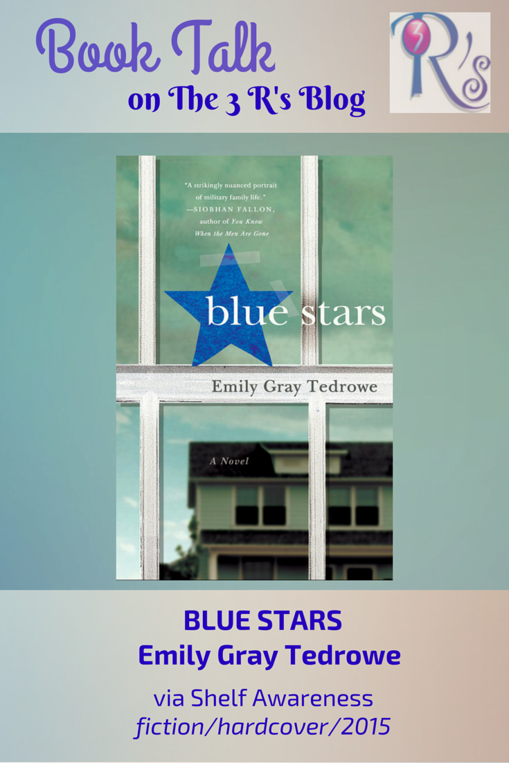 Book discussion: BLUE STARS by Emily Gray Tedrowe (fiction, 2015)