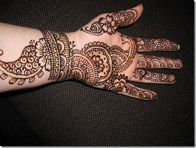 Simple Mehndi Tattoo Hands : Simple mehndi hand designsliteratura por un tubo
