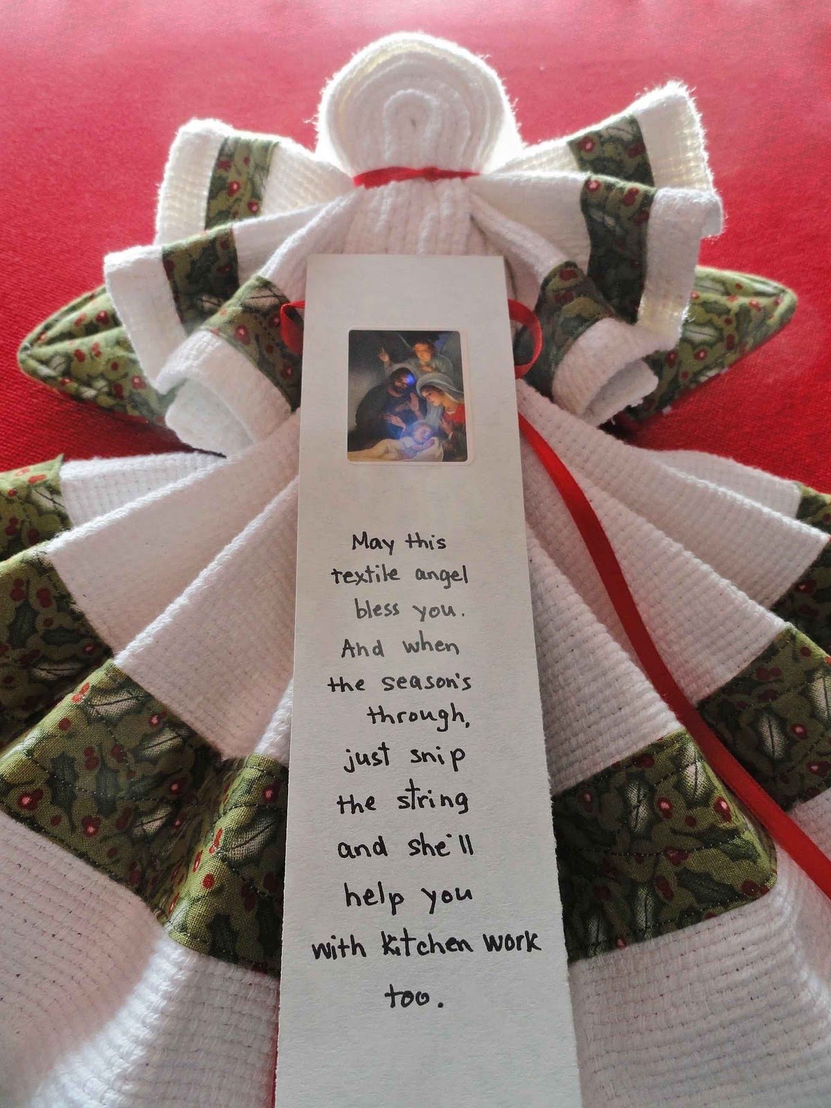 Angel Poem To Go With Dish Towels Just B Cause