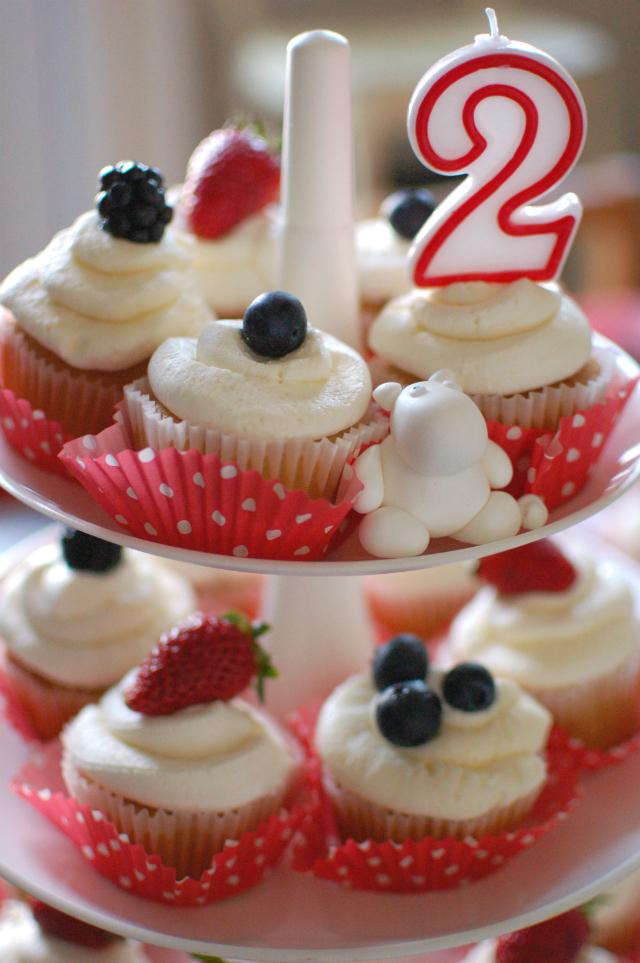 muumi marja cupcakes