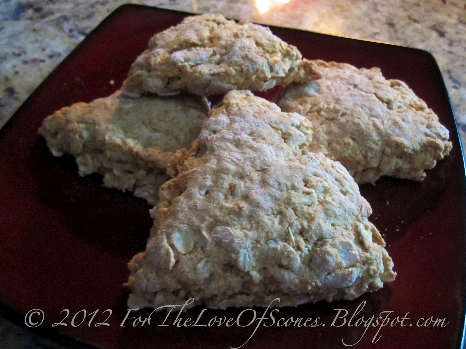 For the Love of Scones!: Scottish Oat & Treacle Scones