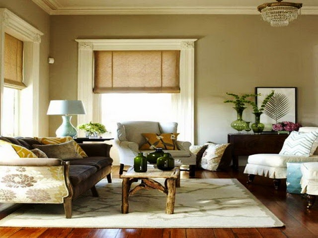 Neutral interior paint color ideas for Interior house painting ideas photos