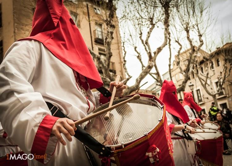 Procesión de Semana Santa en Huesca