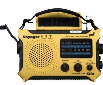 Kaito KA500 Emergency Radio