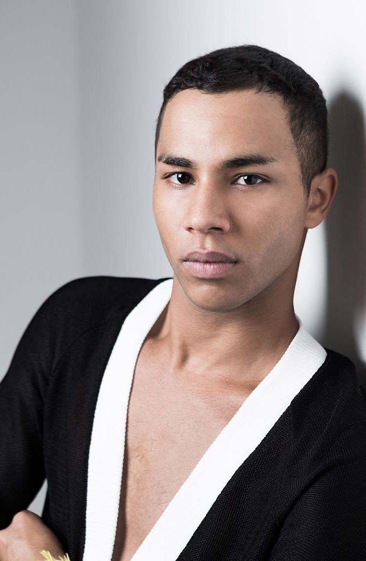 Olivier Rousteing announces Balmain for H&M collection via fashioned by love british fashion blog