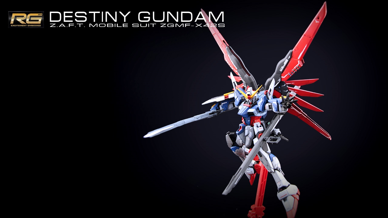 destiny gundam rg - photo #10