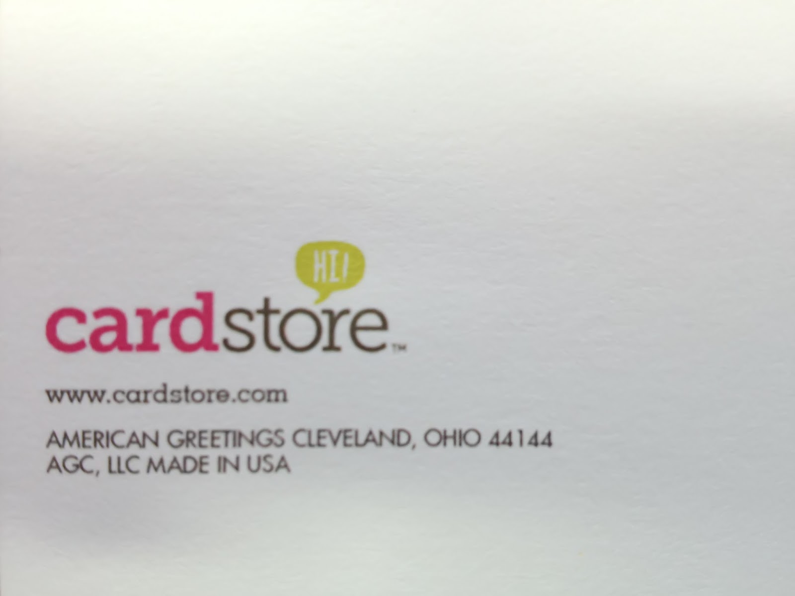Cardstore Review
