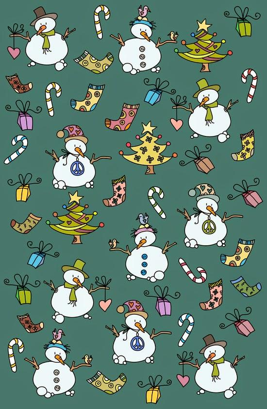 Imprimolandia papel de regalo para navidad - Papel de regalo navidad ...
