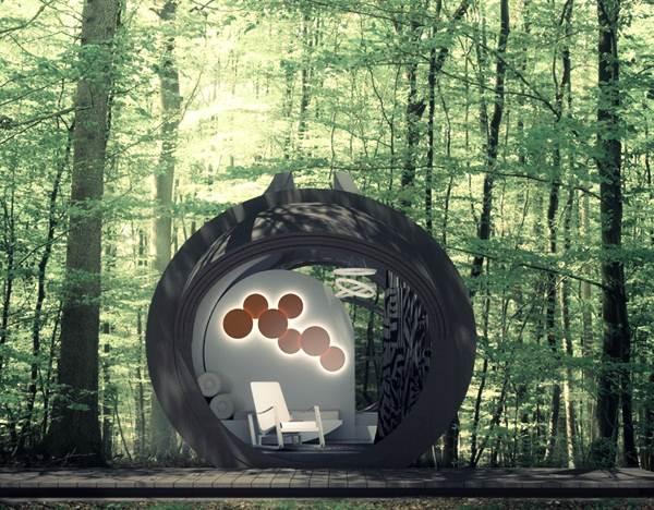 hotel-mudah-alih-dalam-hutan