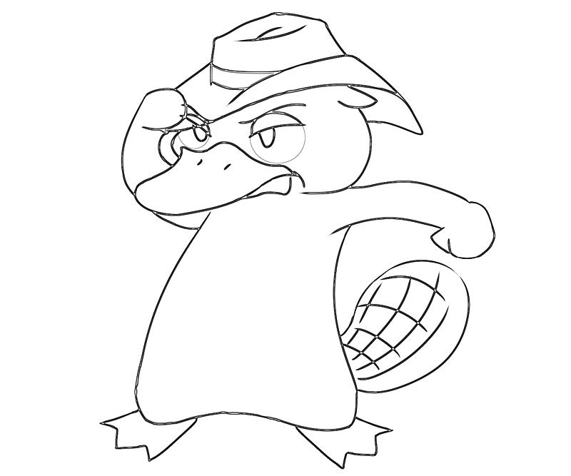 printable-perry-the-platypus-sketch_coloring-pages-2