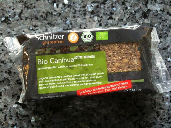 Brotzeit mit Bio Canihua Brot von Schnitzer