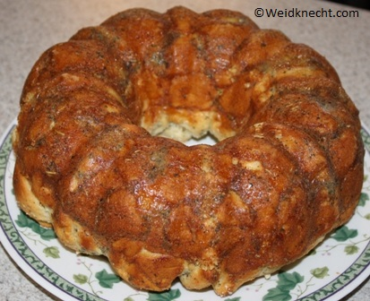 Drunk Monkey Bread Recipe ~ Planet Weidknecht