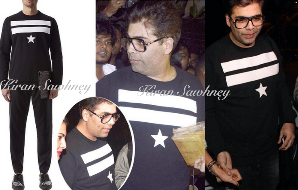 Karan Johar at Zoya Akhtar's party