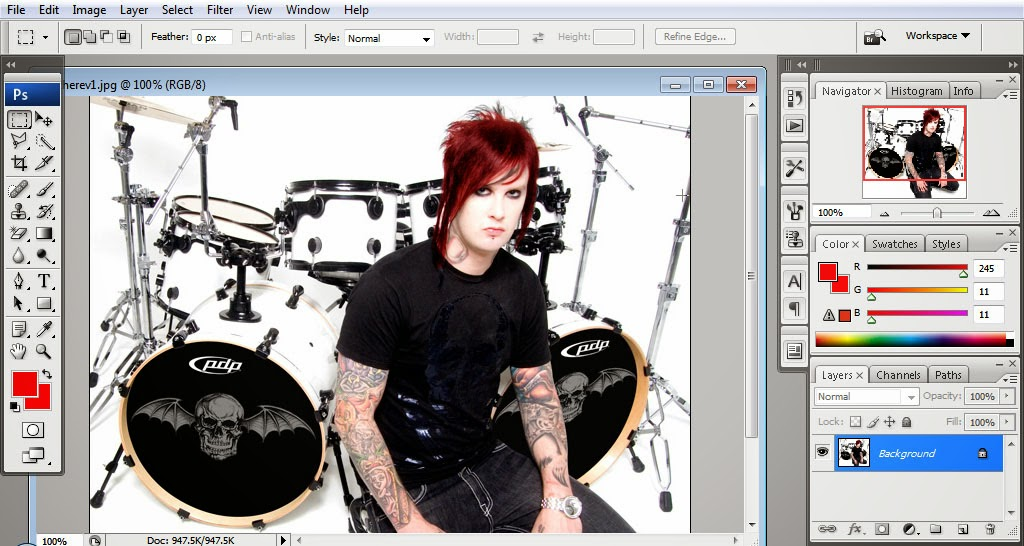 Change Hair Color Photoshop