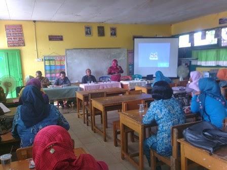 Kegiatan KKG GuGus 1 Sultan Thaha Saifuddin1 Tebo Tengah Kabupaten Tebo 2014