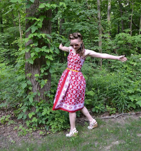 Comoros Vintage Dress- by Flashback Summer