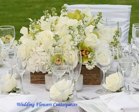 Simple Table Centerpieces For Weddings