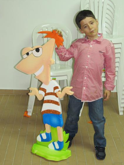 DECORACION FIESTA PHINEAS AND FERB | Decoracion fiestas infantiles ...