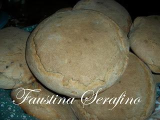 pane di grano duro a lievitazione naturale cotto nel forno a legna