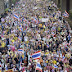 Jalanan Bangkok Dibanjiri Demonstran Lagi!